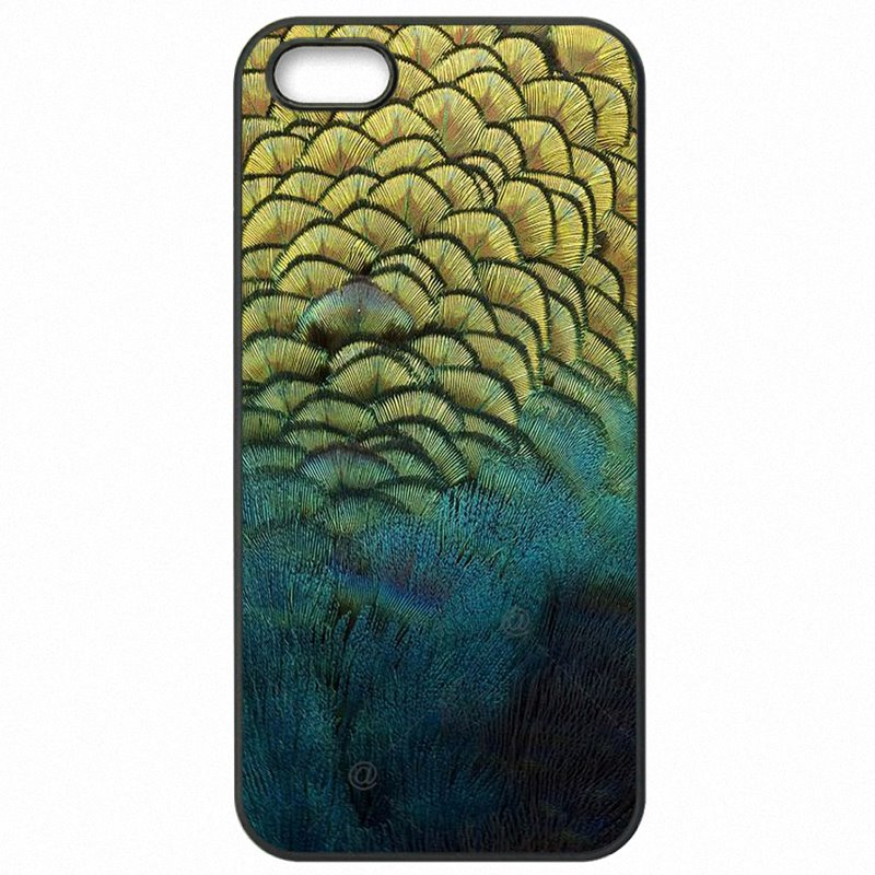 Mobile Phone Cases For Nokia Lumia 650 Colorful Peacock Plumage Print First