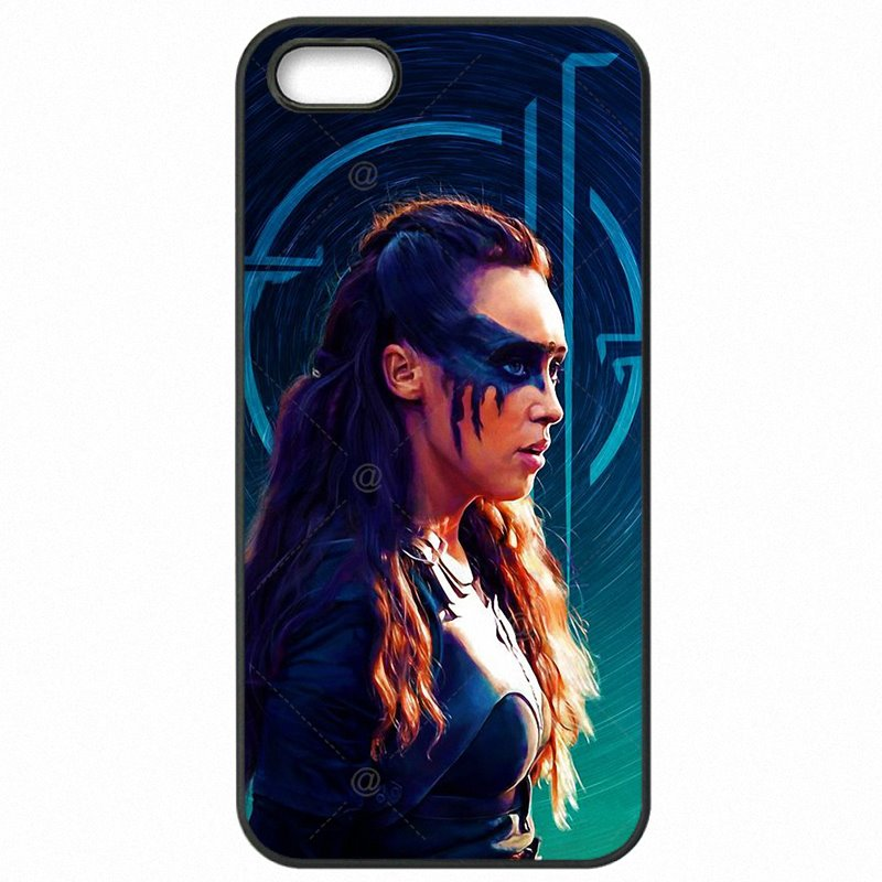 Rugged Commander HEDA LEXA Tattoo THE 100 Art Poster For Google Nexus 6 Cell Phone Capa