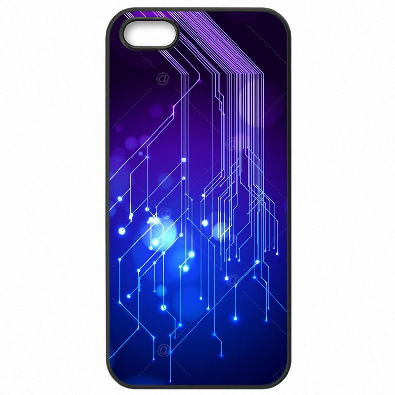 Incredible Computer Motherboard Circuit board Colorful For Galaxy S7 Edge G935A Protective Phone Accessories For Samsung Case