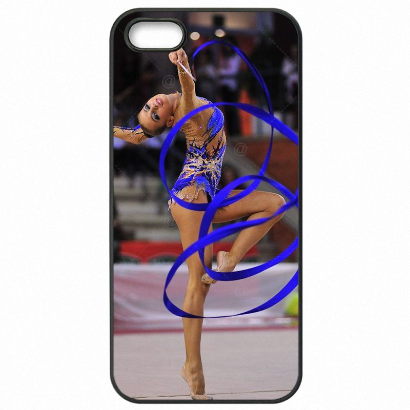 For iPhone Case Hard Phone Fundas Contortion Rhythmic Gymnastics balance beam Pattern For iPod Touch 6 4 inch Vente