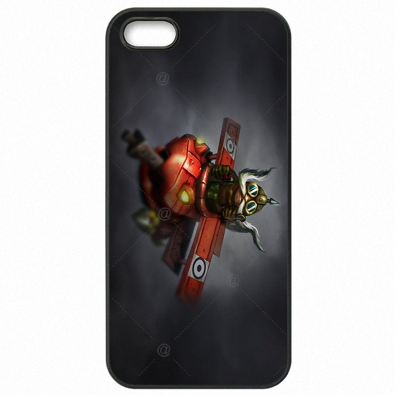 Protector Phone Bags Case Corki Teemo LOL Super hero Art For Huawei Honor 5C Freestyle