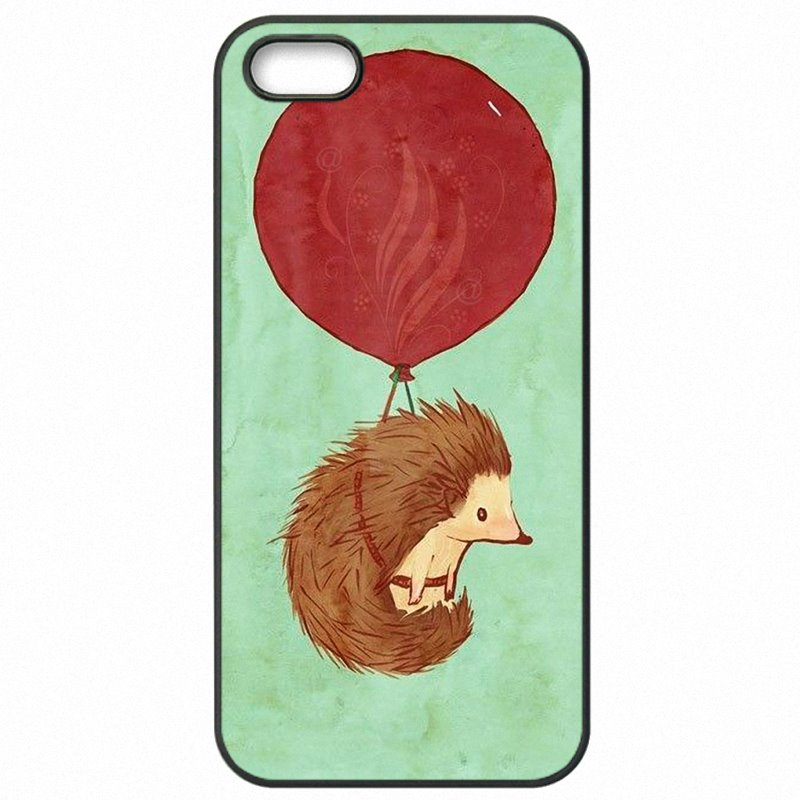 New For LG K10 M250 Cute Animal hedgehogs mouse Art Print Hard Plastic Phone Cover Fundas