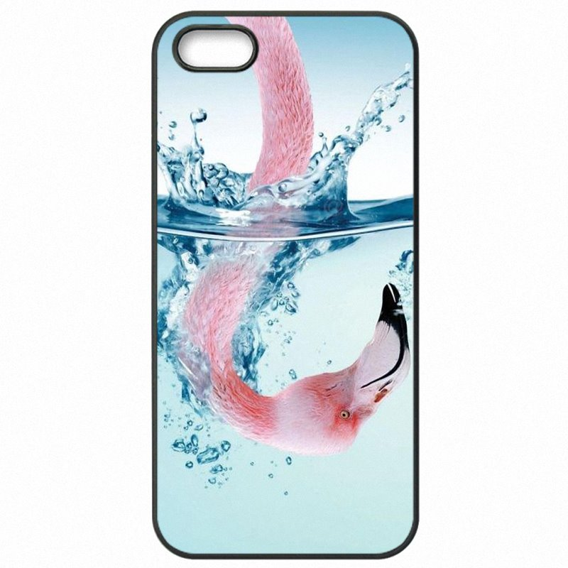 Factory For Galaxy J2 2016 J210F Dancing flamingo Flower Stripe Pink Collage Pattern For Samsung Case Cell Phone Shell Case