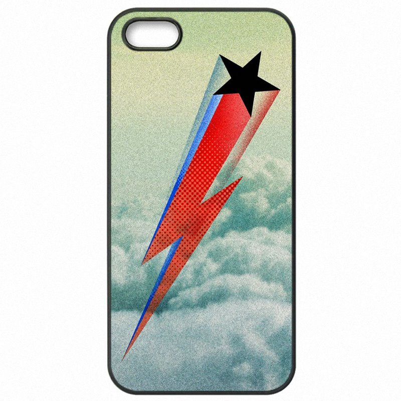For iPhone Case Hard Plastic Phone Shell David Bowie Labyrinth Life on Mars Ziggy For iPod Touch 6 Official