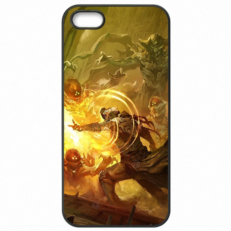 Mobile Phone Bags Case Destiny Shooting Game Tim Tebow Titan Hunter Print For iPhone 6S Fiyat