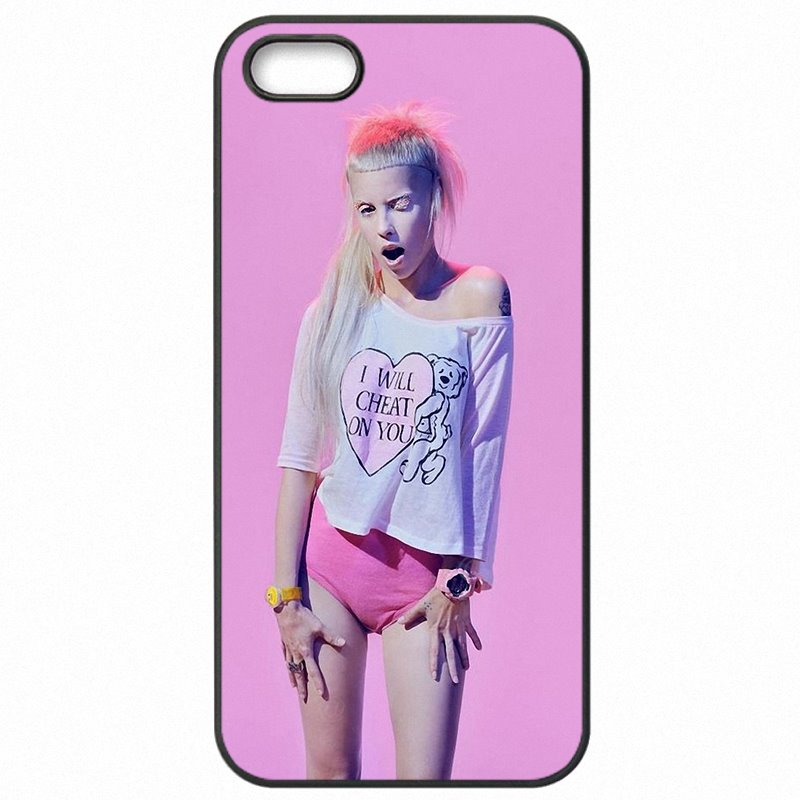 Nouveau Die Antwoord Yolandi Art Visser South Africa rap For Xiaomi Redmi 3 Protective Phone Fundas