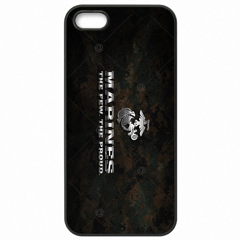 Hard Mobile Phone Cover Bags For Huawei Honor 6 5 inch Eagle US USMC Marines Veteran Marine Corps Light