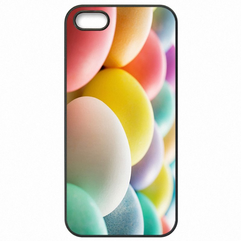 Bright Colored For Sony Xperia C3 Easter Eggs Rainbow And Colorful Hard Phone Cases Cover