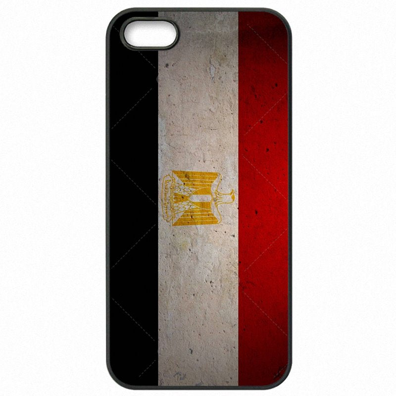 Hard Plastic Phone Capa Egypt National Flag Banner Print For Galaxy S5 Active JR