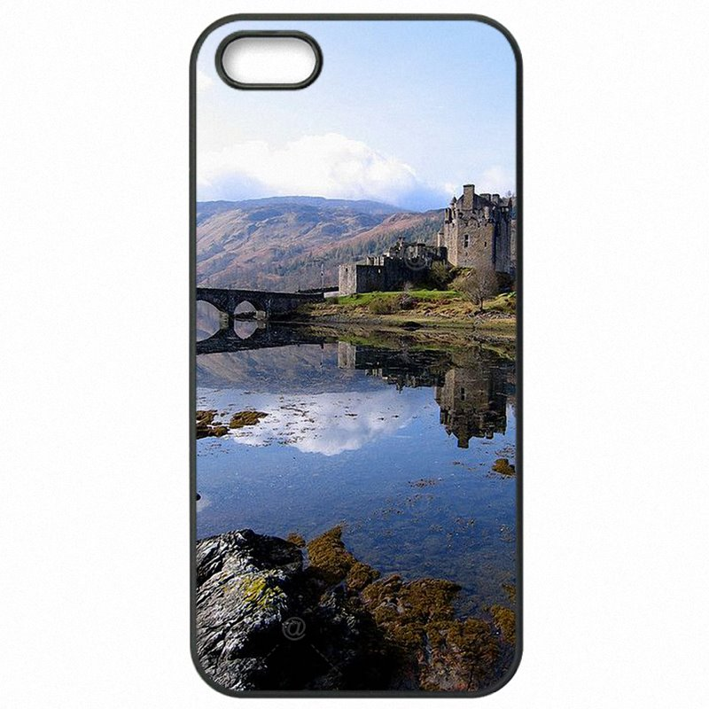 Cell Phone Bags Case Eilean Donan Castle Scotland Highlands For Sony Xperia M2 Dual  Latest
