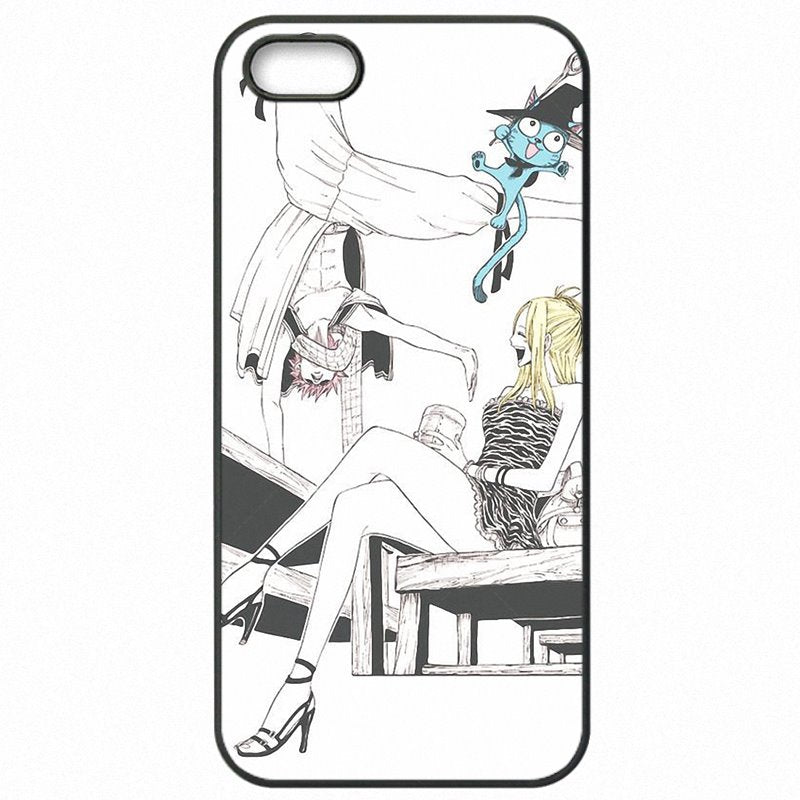 Plastic Phone Shell Case For Galaxy Note Edge N915T Fairy Tail Happy Aye Sir Art Best Selling