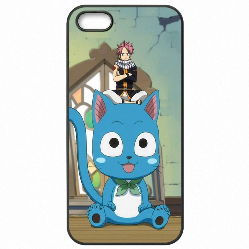 Hard Phone Skin For HTC One M7 4.7 inch Fairy Tail Happy Aye Sir Art Children For HTC Case
