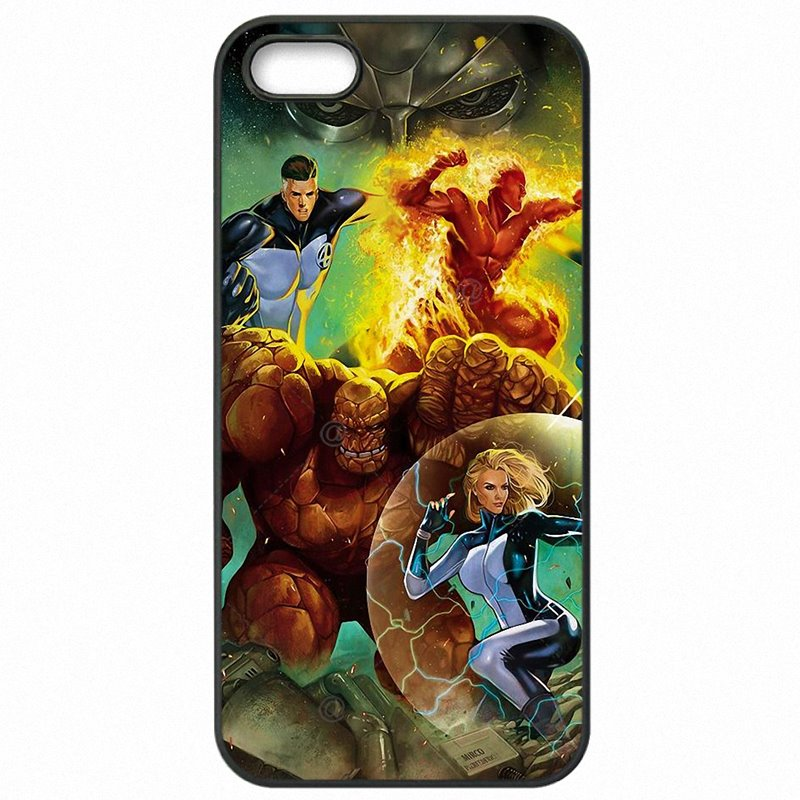Cell Phone Case Cover For Huawei Honor 6 Fantastic Four Trivia and Fun Facts Marvel Comics Vol Amazing
