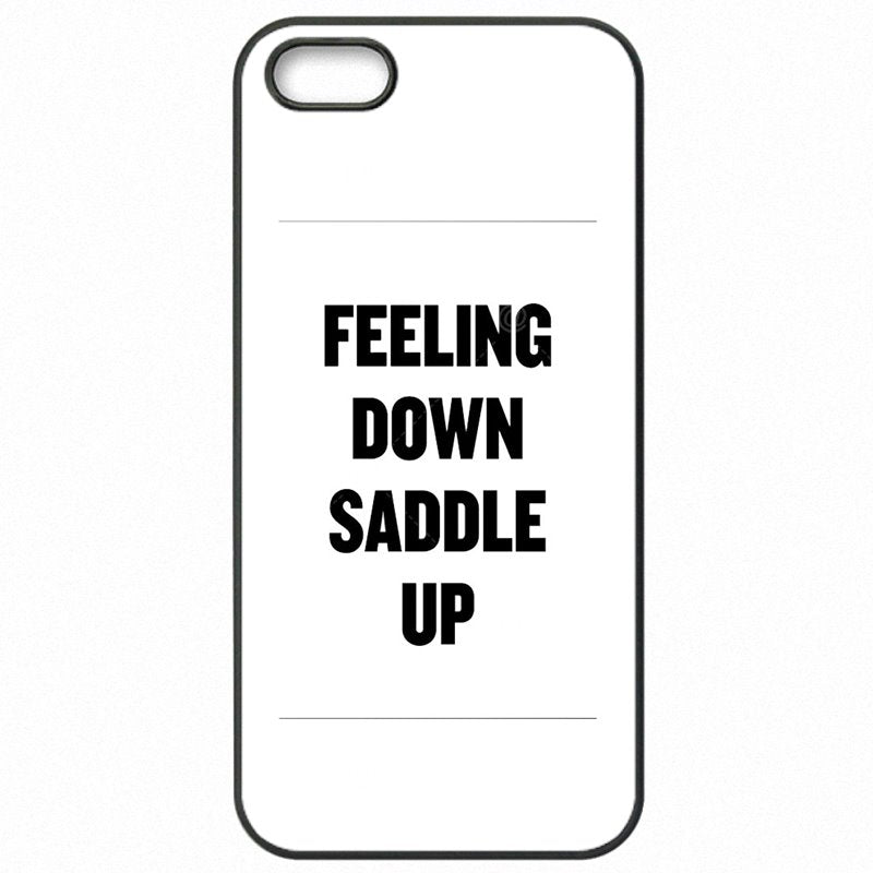 Accessories Pouches Capa For Galaxy A7 2016 A7100 Feeling down Saddle up! Poster Inexpensive