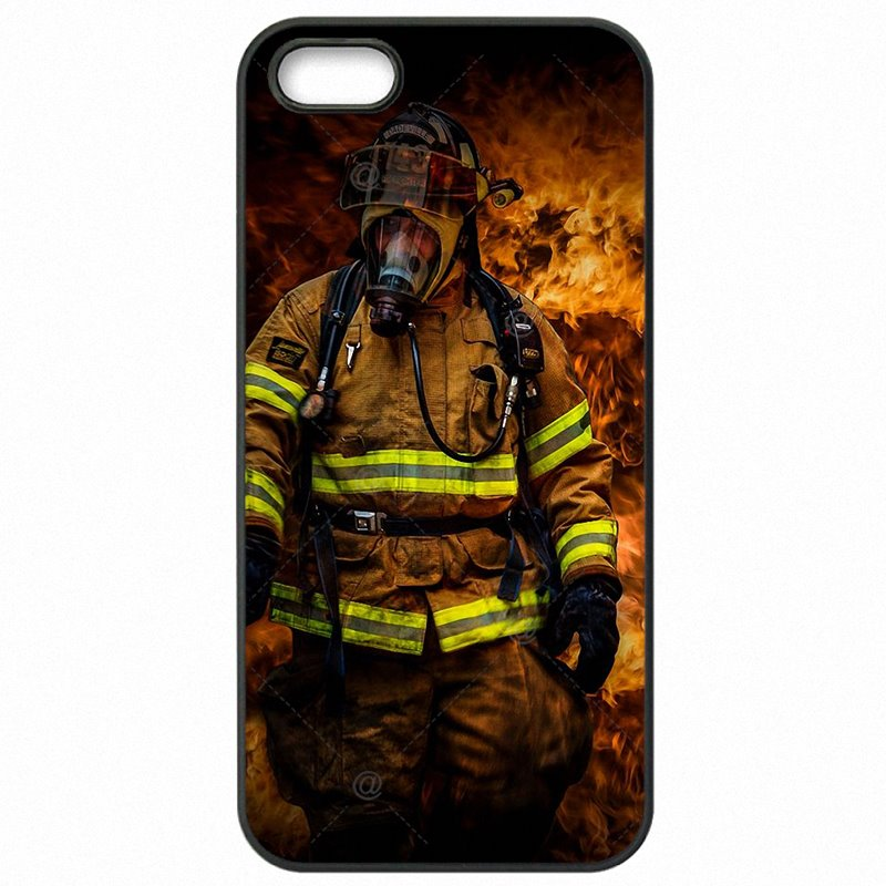 Mobile Pouch Cover Shell Firefighter Heroes Fireman Fleece Panel Art For Lenovo A2010 Youth