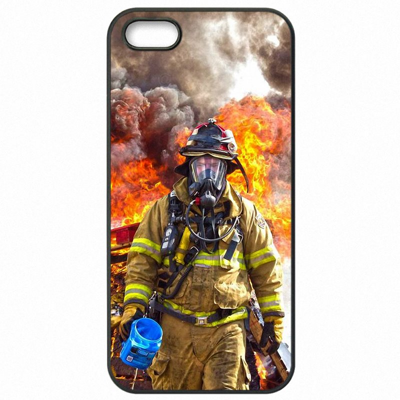 Mobile Pouch Shell Case For One Plus X Firefighter Heroes Fireman Fleece Panel Art Jeunesse