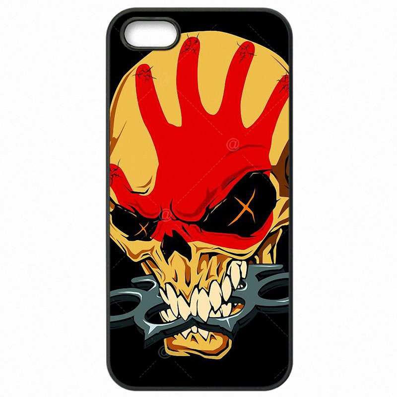 Accessories Phone Cases For Galaxy A5 2016 A510FD Five Finger Death Punch Band Skull Poster Colorful