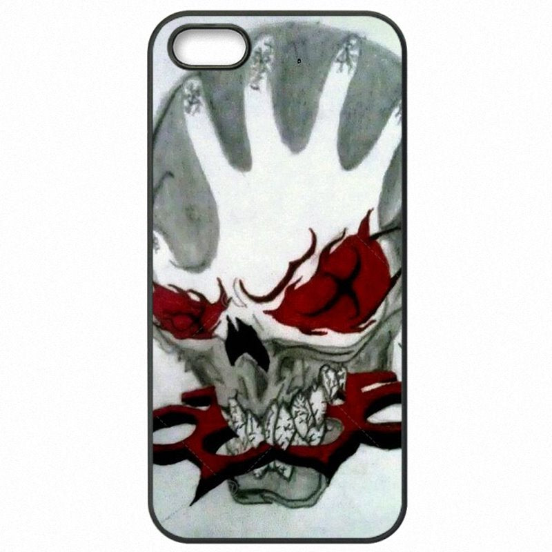 Cheap Five Finger Death Punch Band Skull Poster For Lenovo K50-T3s Accessories Pouches Cover Shell