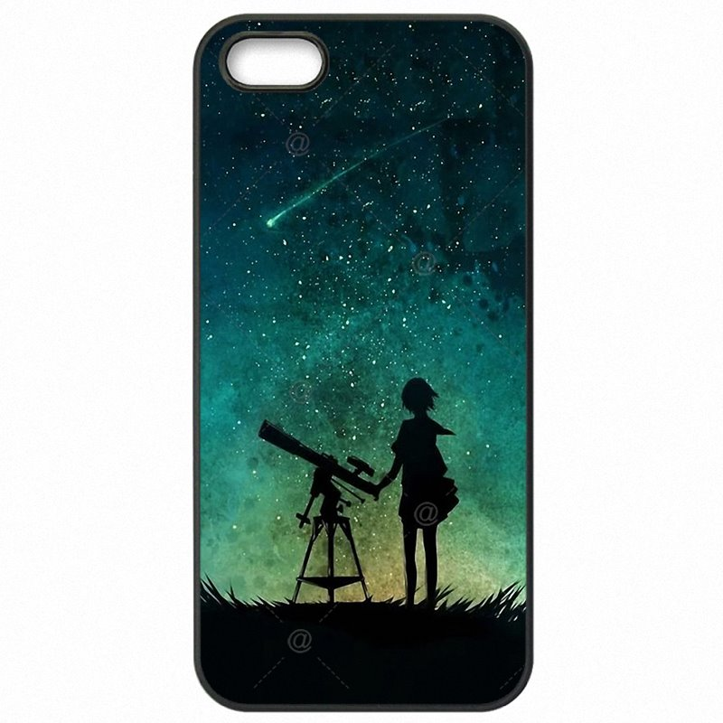 Cell Phone Skin Shell For Samsung Case Night Sky Child Stars Space Galaxy For Galaxy A5 2017 Duos Enfant