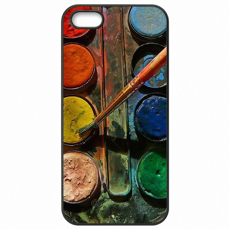 Accessories Phone Covers For Samsung Galaxy A9 Watercolor Set Paint Box Pastel Artwork Releases For Samsung Case
