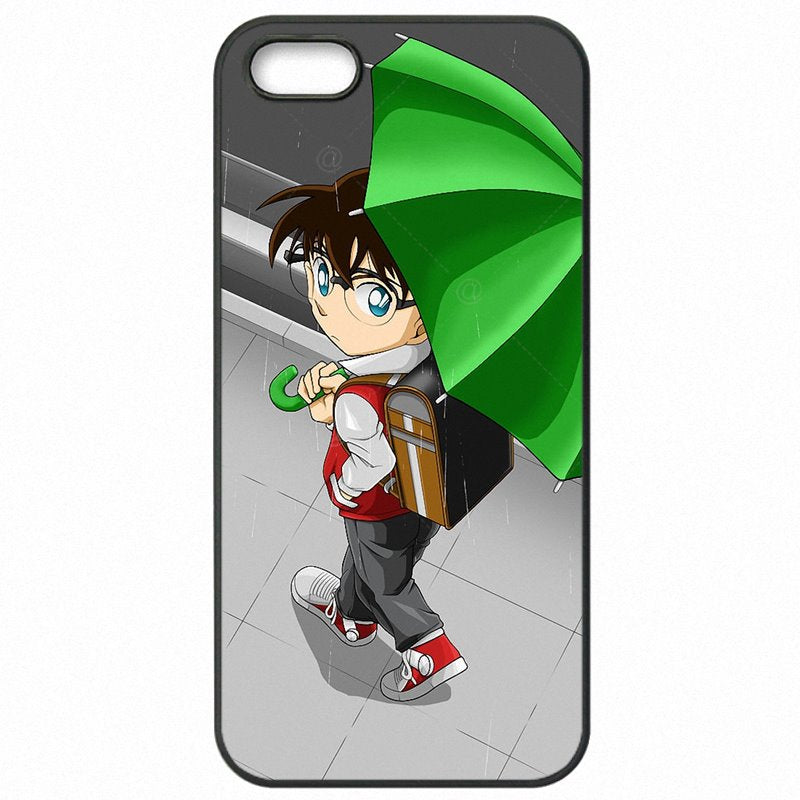Stunning Edogawa Conan Closed Detective Conan For Galaxy S7 Edge G9350 Accessories Pouches Accessories For Samsung Case