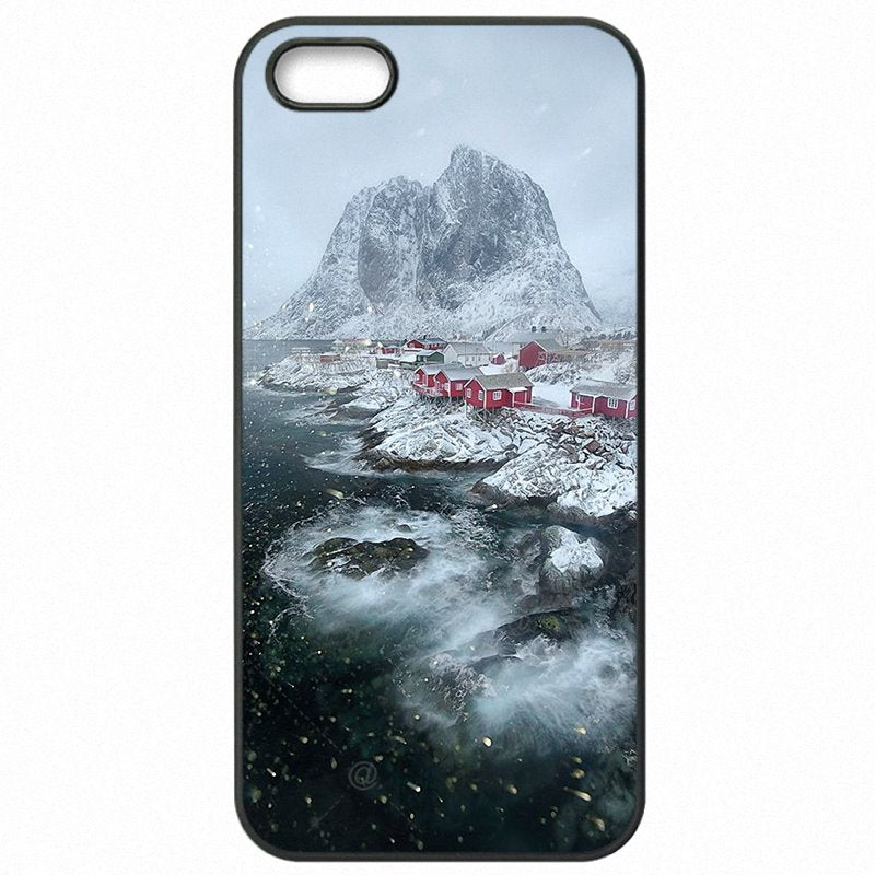 Protector Phone Cases For LG H791F H798 H790 Traveling to Lofoten Islands Norway Beach Enjoy