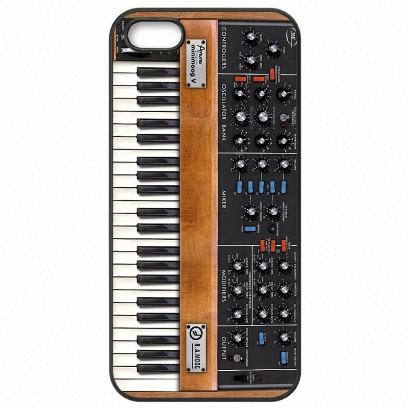 Bright Colored Vintage Synth Synthesizer Moog Print For LG Google Nexus 8 Hard Mobile Phone Cover For Google Case