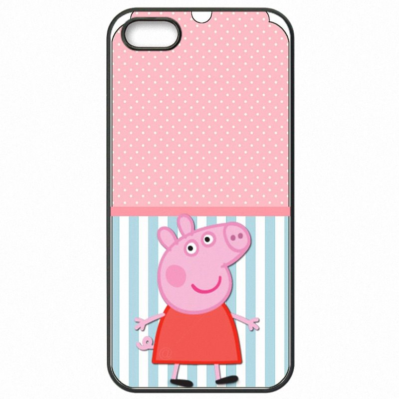 Mobile Pouch Cover Fundas Pink Peppa Pig Party Ideas For HTC One 2013 Worlds Nicest