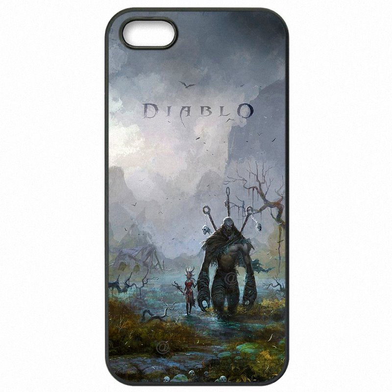 Achat Diablo Reaper Of Souls Demon Hunter Crusader Art For HTC 801E 801S 801N  Hard Plastic Phone Shell Case For HTC Case