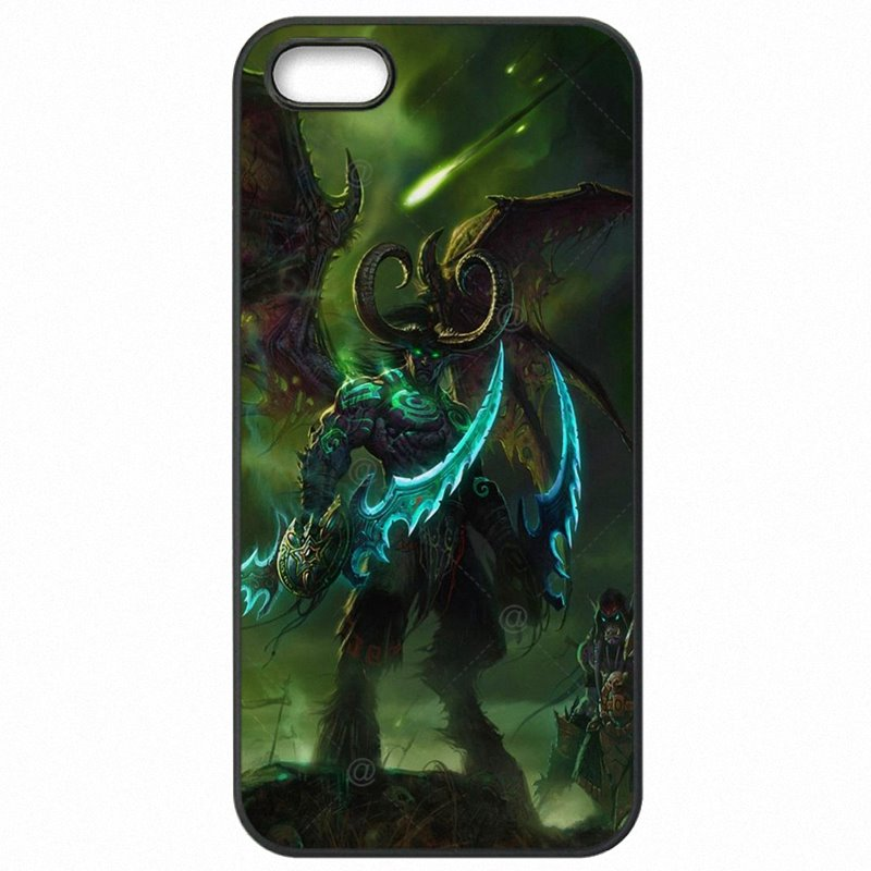 For Mens For HTC 0PJA10 Illidan World of Warcraft WoW Art For HTC Case Hard Mobile Phone Shell Case