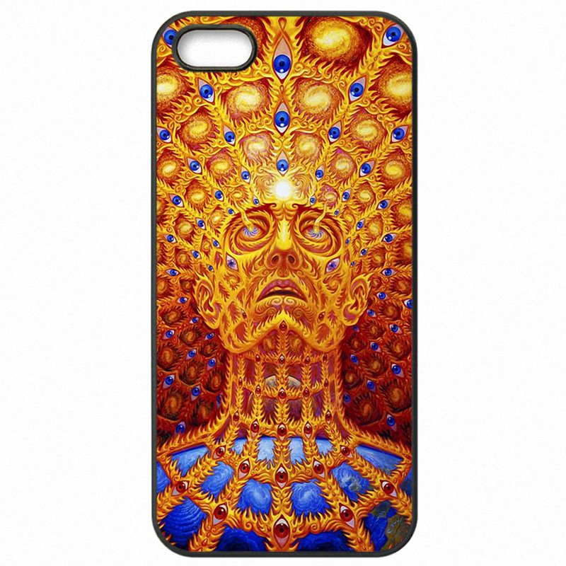 Great For Moto G4 Plus Alex Grey Progress of the Soul Kiss of the Muse For Motorola Case Accessories Pouches Covers Case