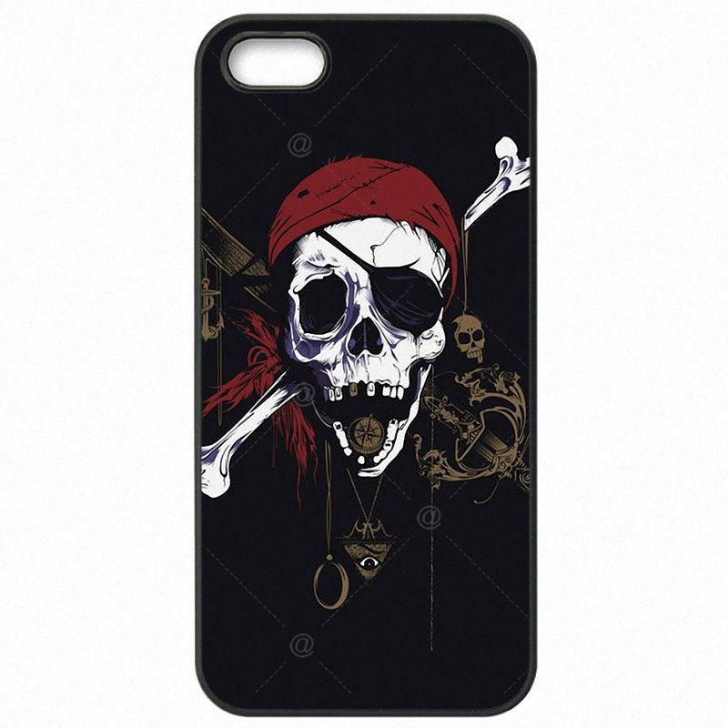 Protector Phone Skin For Motorola Case Under the Black Pirate Skull Flag pirates For Moto G4 Plus XT1644 Childrens