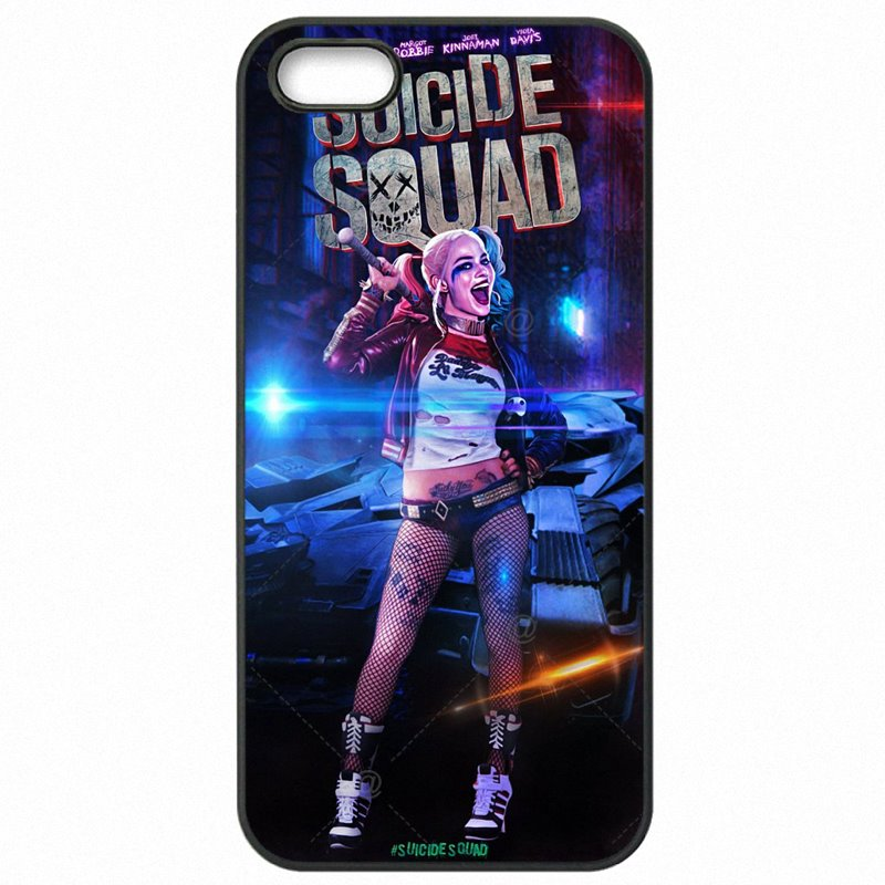 For Nokia Case Plastic Phone Cases Suicide Squad Harley Quinn Joker Movie Poster For Nokia Lumia 830 Kids