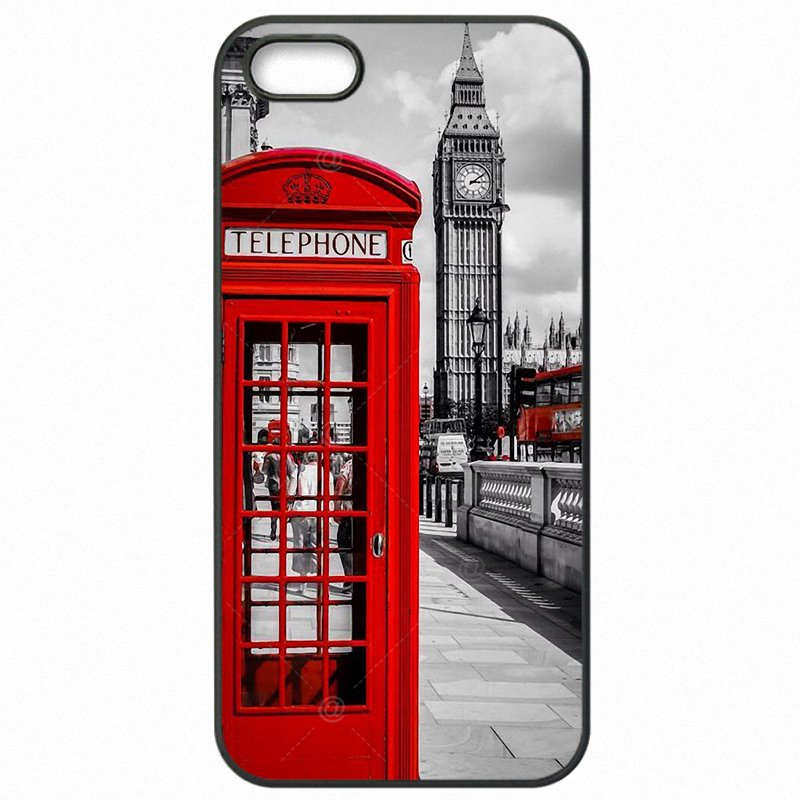Most Expensive Red London Telephone Booth Box British English Art For OnePlus X 5.0 inch Mobile Phone Shell Case For One Plus Case