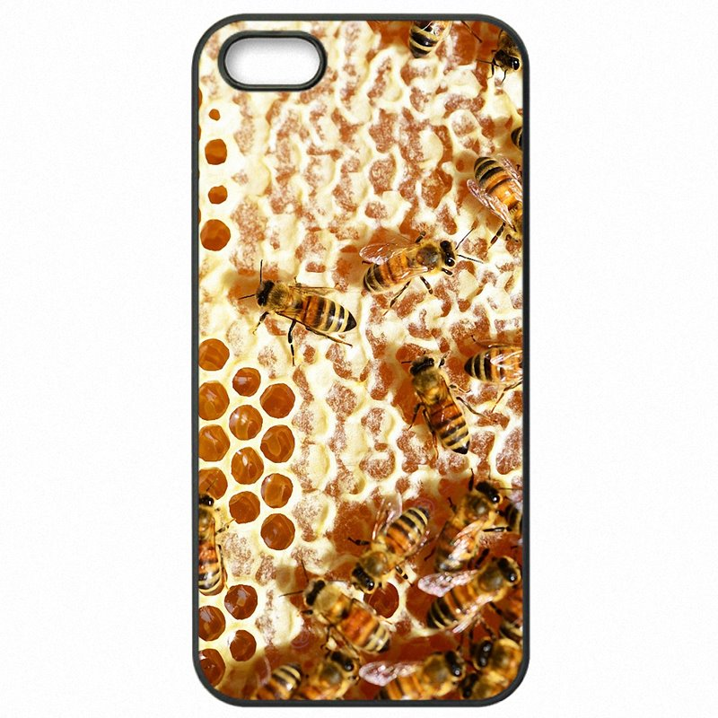 Accessories Phone Skin For Samsung Case Golden honeycomb honey bee Art Print For Galaxy S3 I9305 Launch