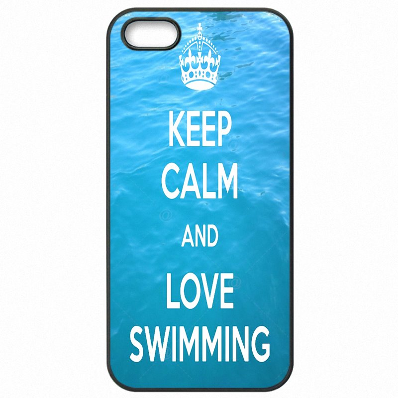 Select For Sony Z4 Compact E5663 Keep calm And Enjoy Go TO swimming For Sony Case Hard Plastic Phone Accessories