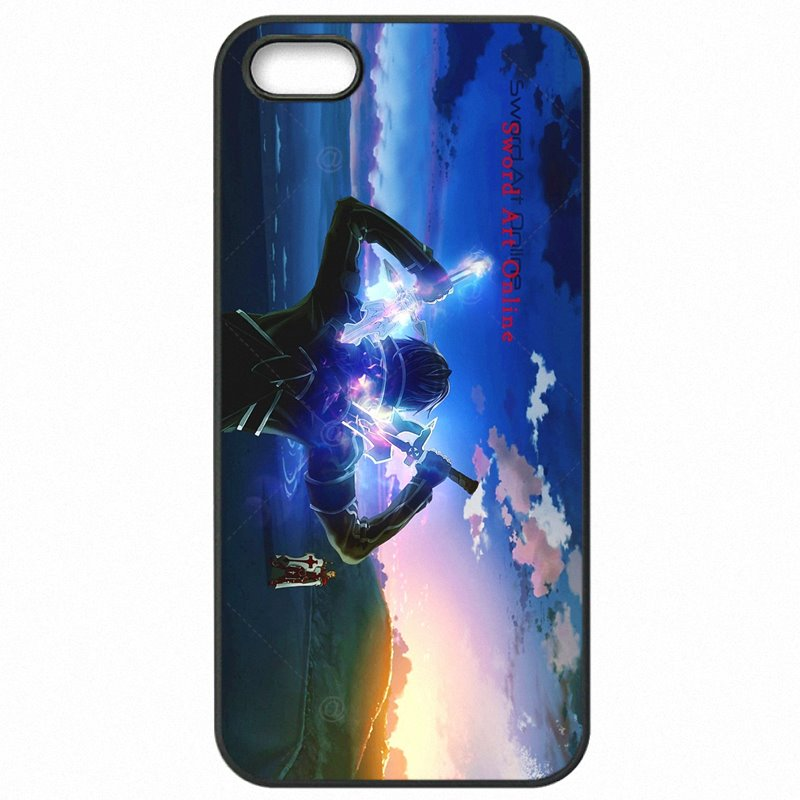 Cell Phone Case Cover For Sony Case Sword Art Online Kirito Asuna SAO Art Japan Anime For Sony Z4 compact Les Meilleurs