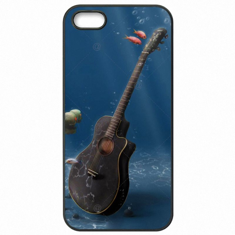 For Sony Case Hard Mobile Phone Fundas Water and fire guitar Pattern For Sony Xperia Z2 Mini Affordable