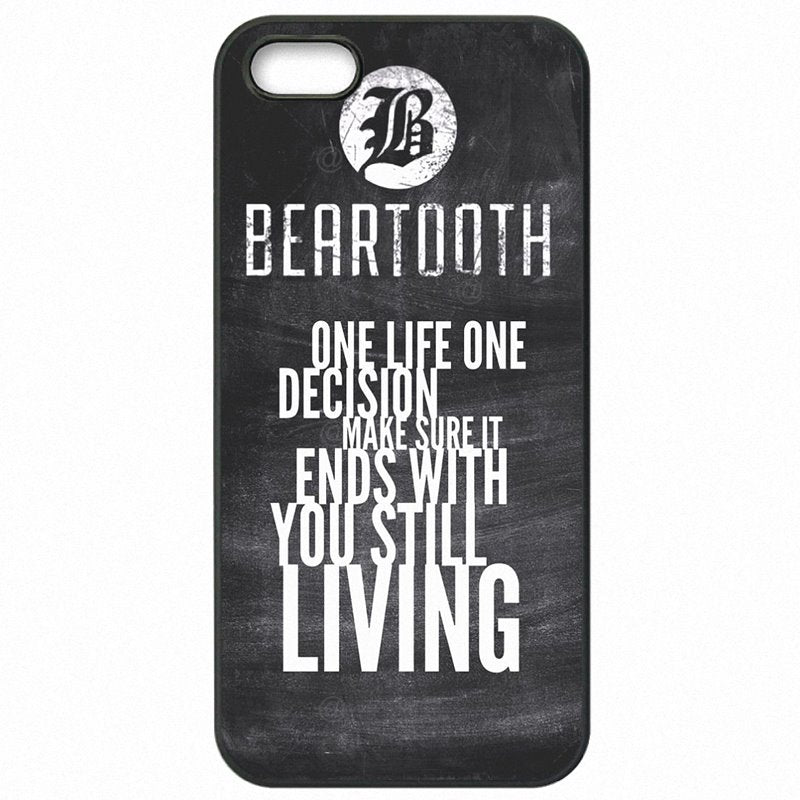 For Sony Case Hard Mobile Phone Bags American punk band Beartooth Coffin For Sony Xperia X F5122 Big Kid