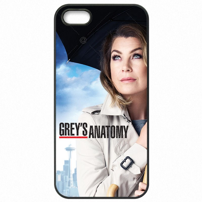 Accessories Phone Coque Famous Cartoon Greys Anatomy Poster Collage For Sony Xperia Z4 Mini Women