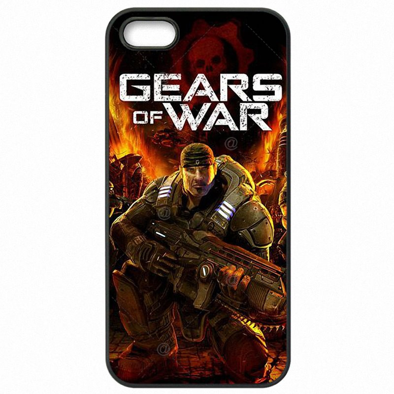 Hard Mobile Phone Bags For Sony Xperia Z5 Mini Gears Of War Inspired Marcus And Dom Skull Marcus Fenix Sale