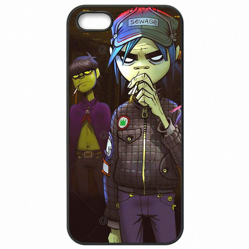 For Sony Case Protective Phone Skin Shell cartoon Demon Days gorillaz boat Pattern For Sony Xperia Z5 Mini Personalized