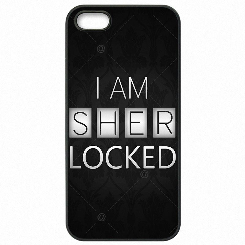 Mobile Phone Capa For iPod Touch 6 I am Sherlocked Holmes Art Print Upcoming For iPhone Case