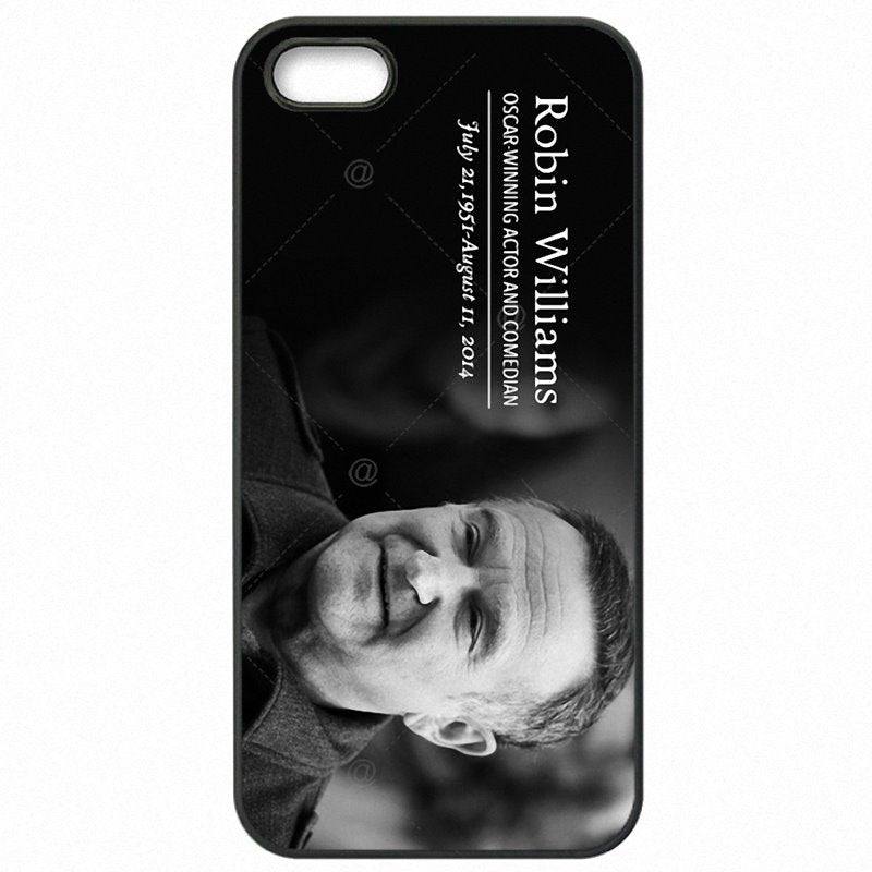 For iPhone Case Protector Phone Cover Skin Robin Williams Life is a joke For iPod Touch 6 4 inch For Men