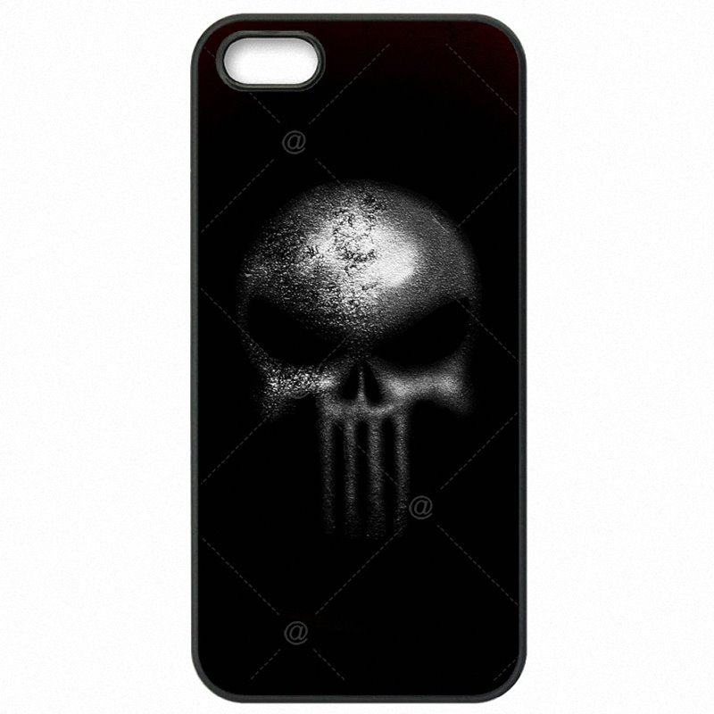Cyber Monday For iPod Touch 6 4 inch comic The Punisher Skull Metal Logo Poster Accessories Phone Cover Bags