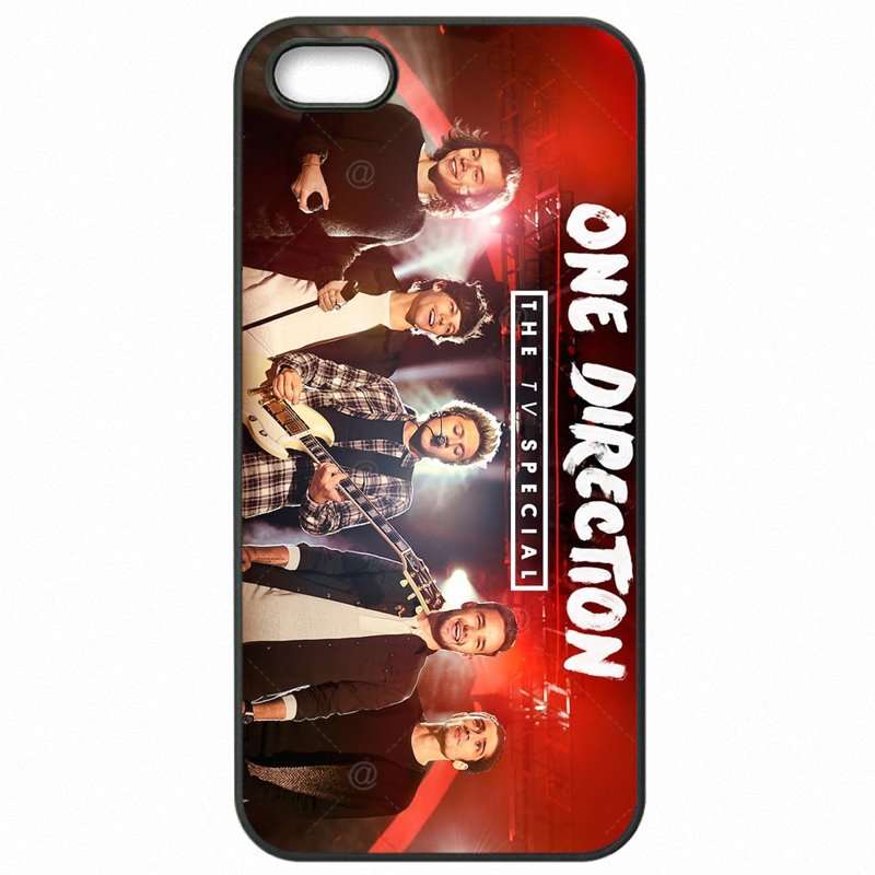 Custom ONE DIRECTION 1D Niall Horan Harry Styles Louis Tomlinson For iPod Touch 6 4 inch Hard Mobile Phone Cover For iPhone Case