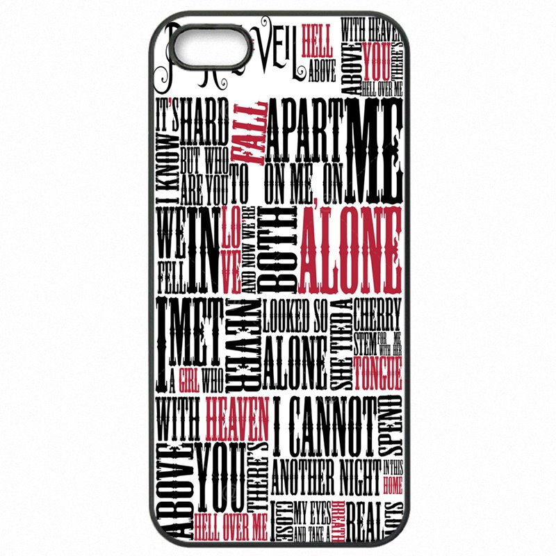 Special Pierce The Veil PTV Mike Fuentes Vic Fuentes Tony Perry lyrics For iPod Touch 6 4 inch Cell Phone Fundas