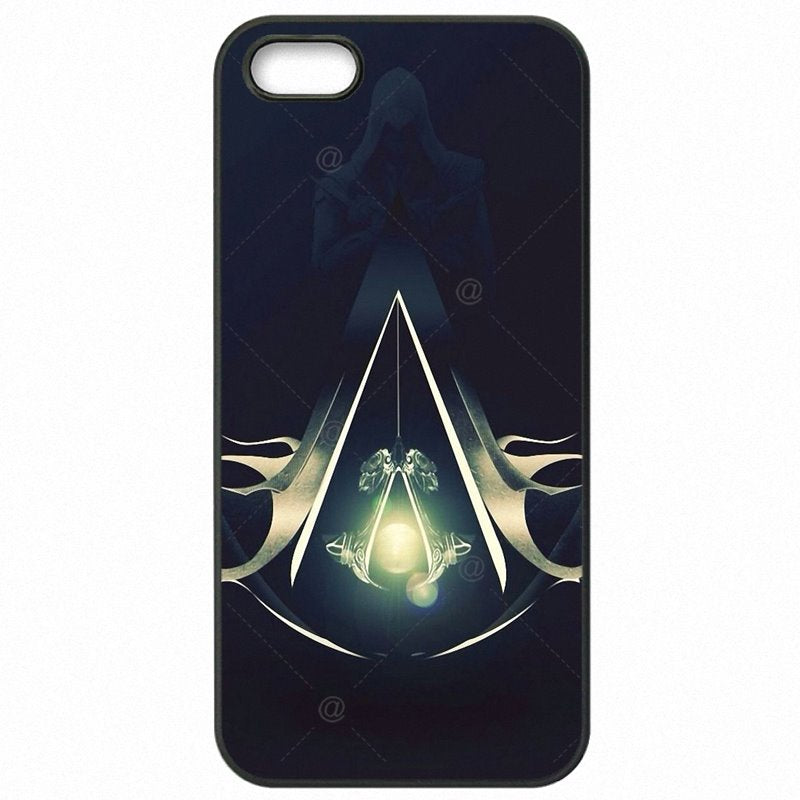 Accessories Phone Shell For iPod Touch 6 4 inch Skull Assassins Creed game figure Art Nova For iPhone Case