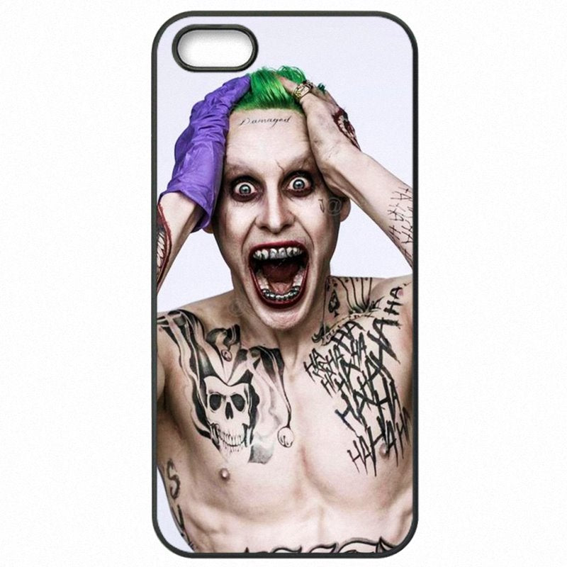 Outlet Suicide Squad Harley Quinn Joker Movie Poster For iPod Touch 6 Plastic Phone Cover Fundas