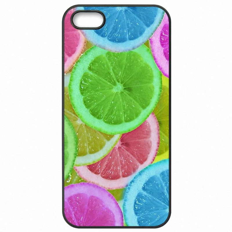 Colours Fruit Art Wallpaper Pattern Collage For Galaxy J7 2015 J7008 Hard Mobile Phone Cover